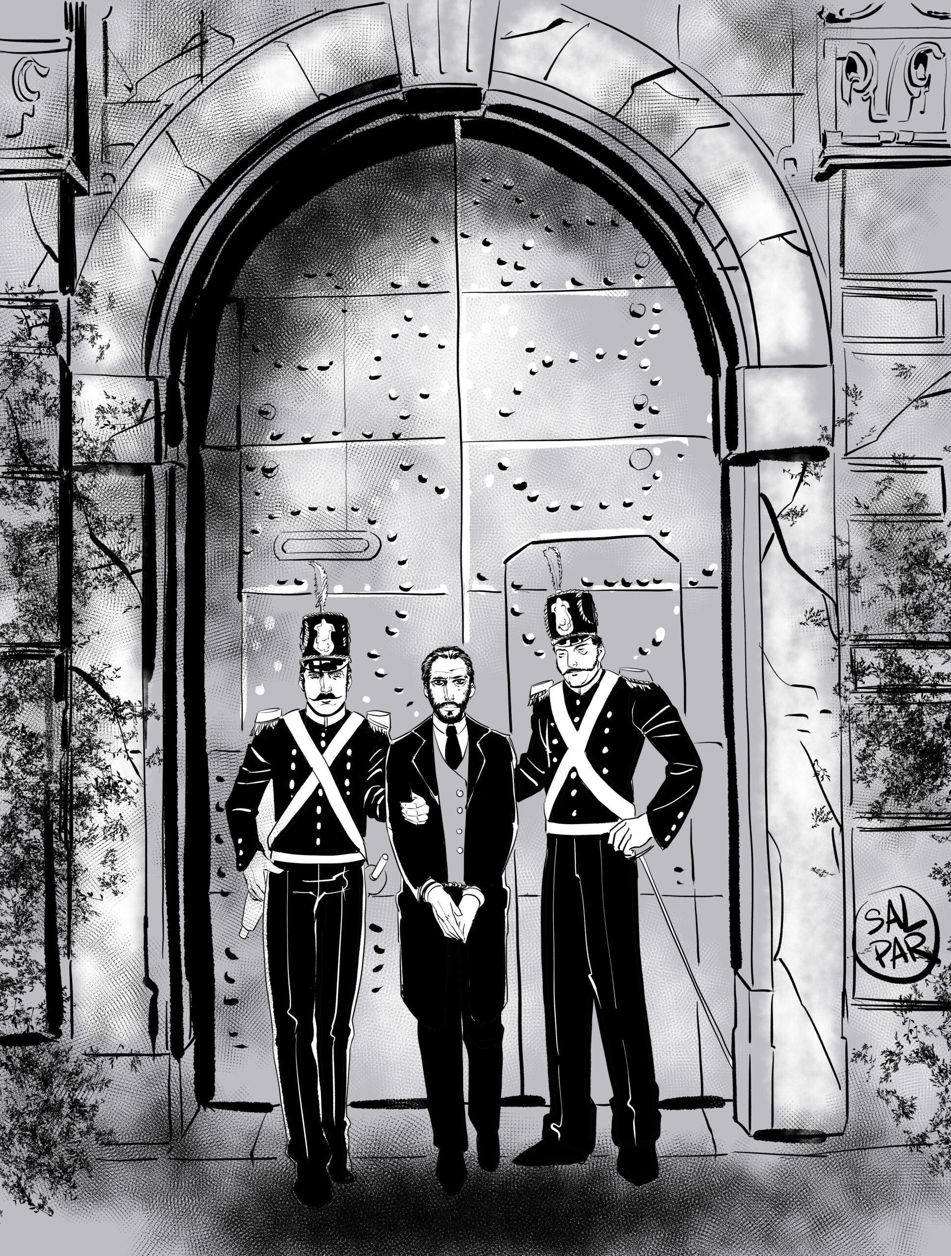 Un arresto a Natale: Padula 1828